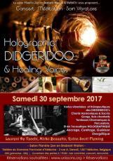 "Concert Vibratoire ""Holographic Didgeridoo & Healing Voices"""