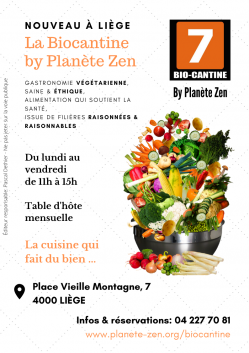 Black and white illustration organic kitchen restaurant flyer