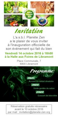 Invitation officielle