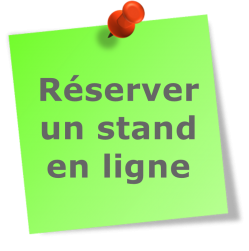 Post it green reserver stand en ligne