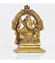 Tete de bouddha en bronze
