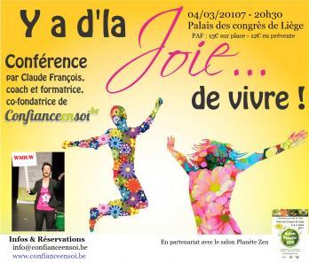 Y a dla joie affiche 4 mars